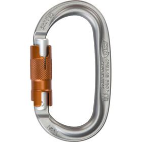 Climbing Technology Pillar Pro WG Carabiner Twist Lock grey